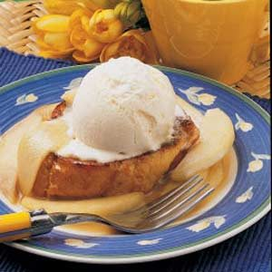 Pear Sundae French Toast