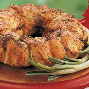Swiss-Onion Bread Ring