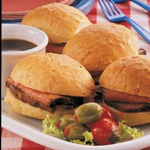 Sirloin Sandwiches