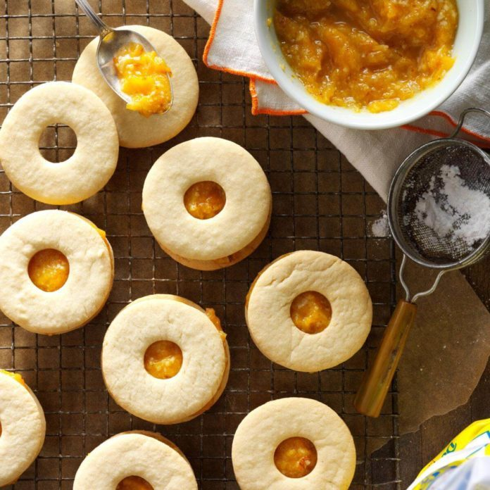 Dessert Course: Apricot-Filled Cookies