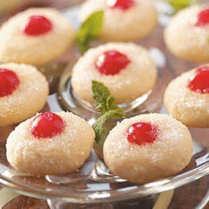 Sugared Cherry Jewels