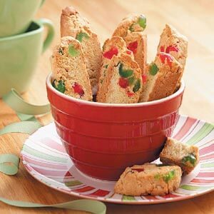 Almond Cherry Biscotti