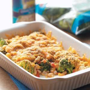 Broccoli Bean Bake