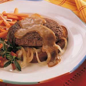 Onion Salisbury Steak