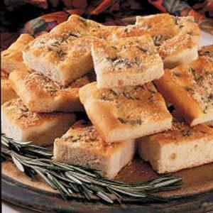 Focaccia Bread Squares