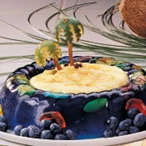 Tropical Island Dessert