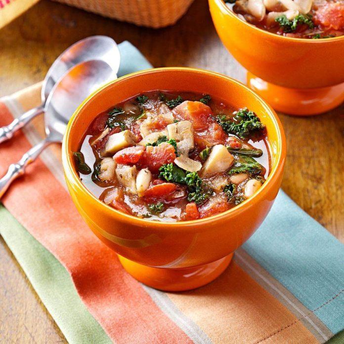 Day 25: Tuscan Portobello Stew
