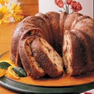 Orange Date Pound Cake