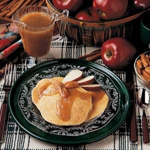 Apple Pecan Pancakes