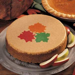 Harvest Apple Cheesecake