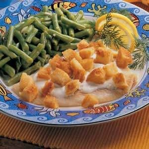 Fish with Cream Sauce