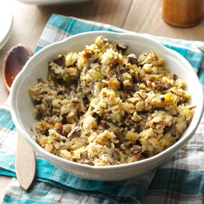 Wyoming: Wild Rice Stuffing