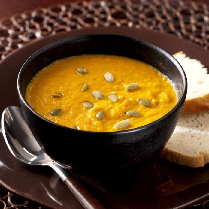 Spiced Harvest Pumpkin Soup