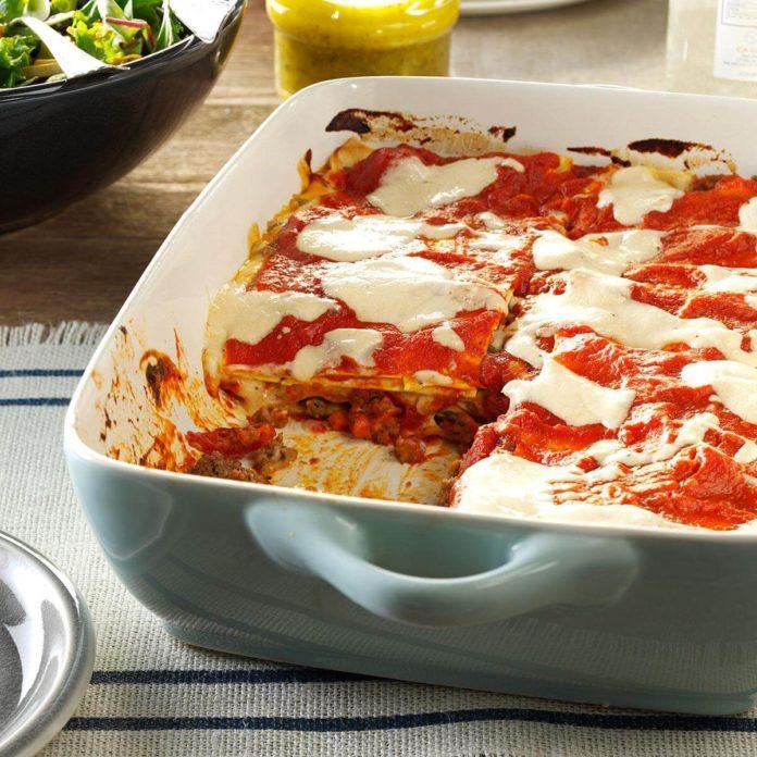 Cannelloni-Style Lasagna