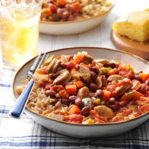 Cajun-Style Beans and Sausage