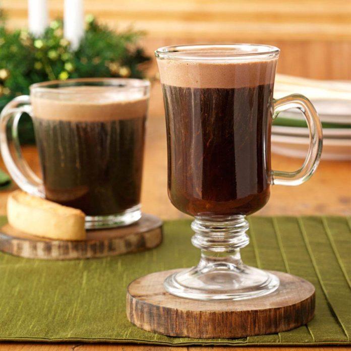 Inspired by: Hot Coffee with Hazelnut Flavor Swirl