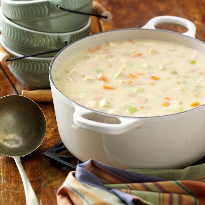 Cheesy Chicken Chowder
