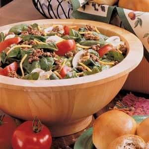 Hearty Spinach Salad