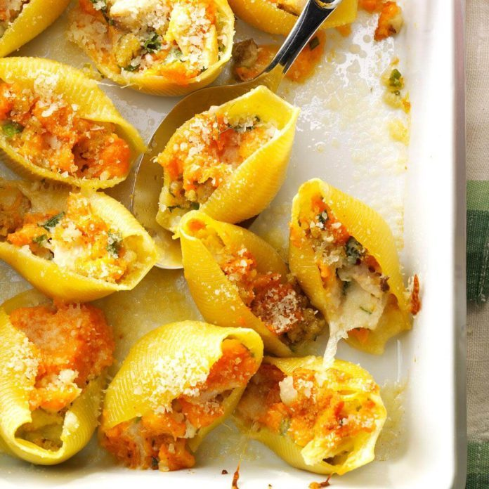 Rhode Island: Thanksgiving Stuffed Shells