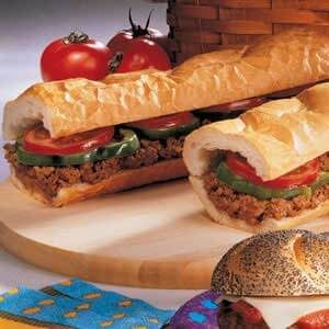 Hamburger Hoagie
