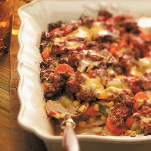 Layered Beef Casserole