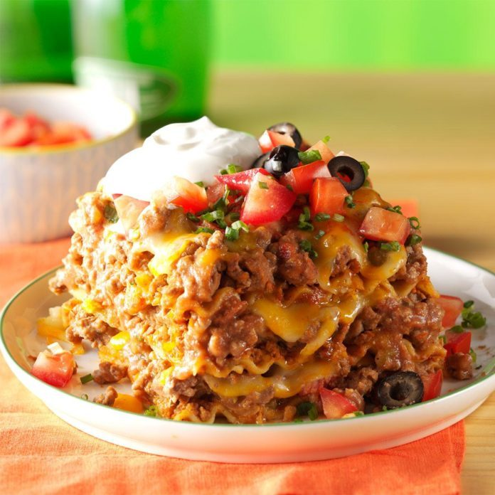Top 10 Mexican Dinner Recipes: Mexican Lasagna Recipe