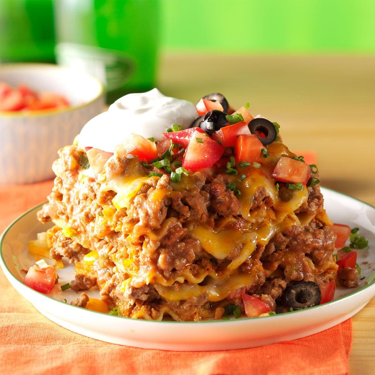 Mexican lasagna taste of home forumfinder Choice Image