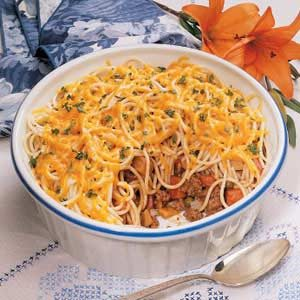 Busy Day Spaghetti Dinner