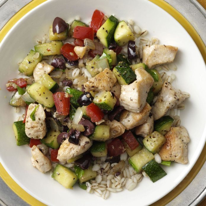 Mediterranean Chicken Stir-Fry
