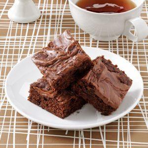 Peanut Butter-Hazelnut Brownies