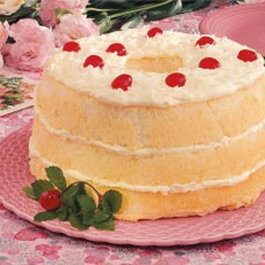 Pineapple angel food torte taste of home pineapple angel food torte recipe photo by taste of home forumfinder Image collections