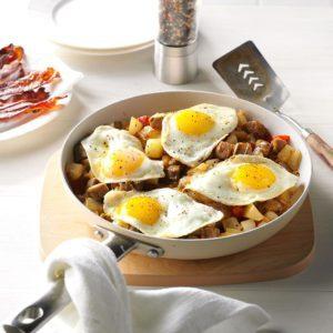 Chicken Sausage & Potato Hash