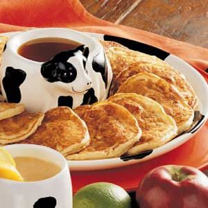 Apple Ham Hotcakes