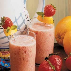 Strawberry Orange Shakes