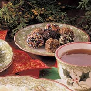 Chocolate Raisin Truffles