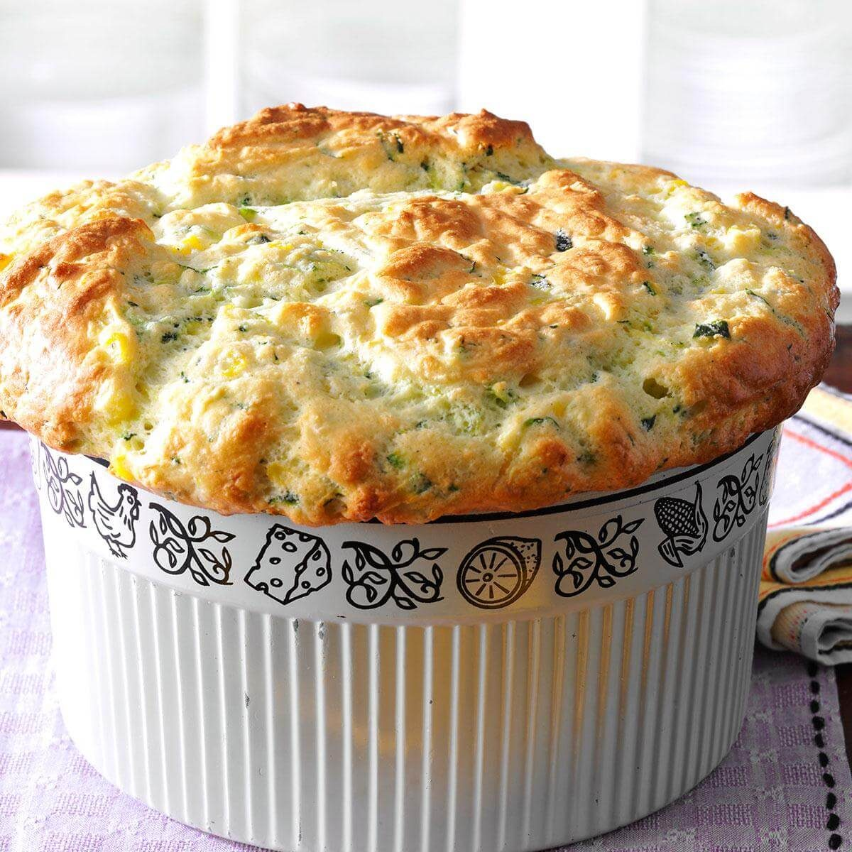 Souffle of zucchini. Cooking recipes 77