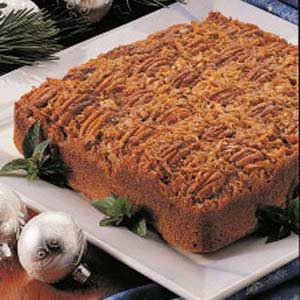Upside-Down German Chocolate Cake
