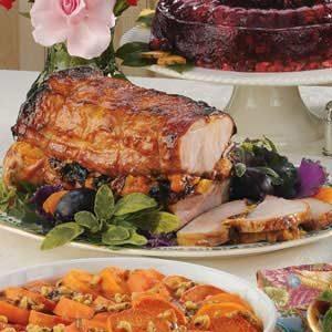 Fruit-Stuffed Pork Roast