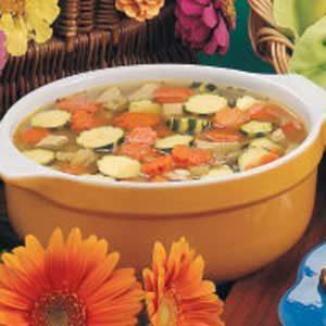 Flower Garden Soup