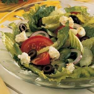 Tossed Greek Salad