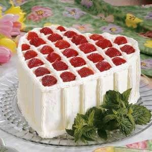 Chocolate Chiffon Valentine Cake