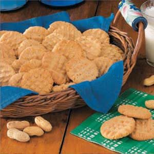 No-Fuss Peanut Butter Cookies