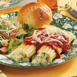 Special Cheese Manicotti