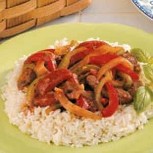 Beef with Sweet Peppers