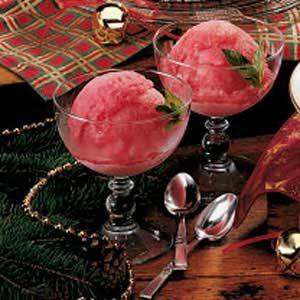 Quick Cranberry Ice
