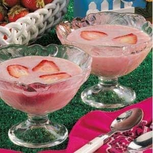 Chilled Spiced Strawberry Soup