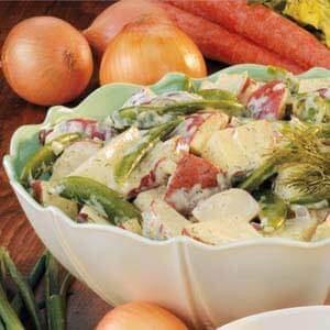Sugar Snap Potato Salad