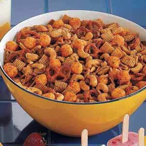 Cheese Ball Snack Mix