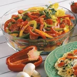 Colorful Pepper Salad