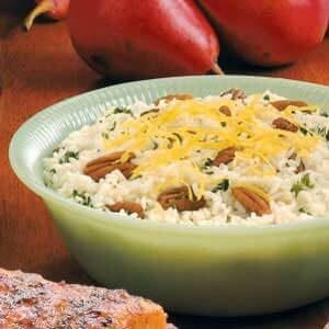 Lemon Pecan Pilaf
